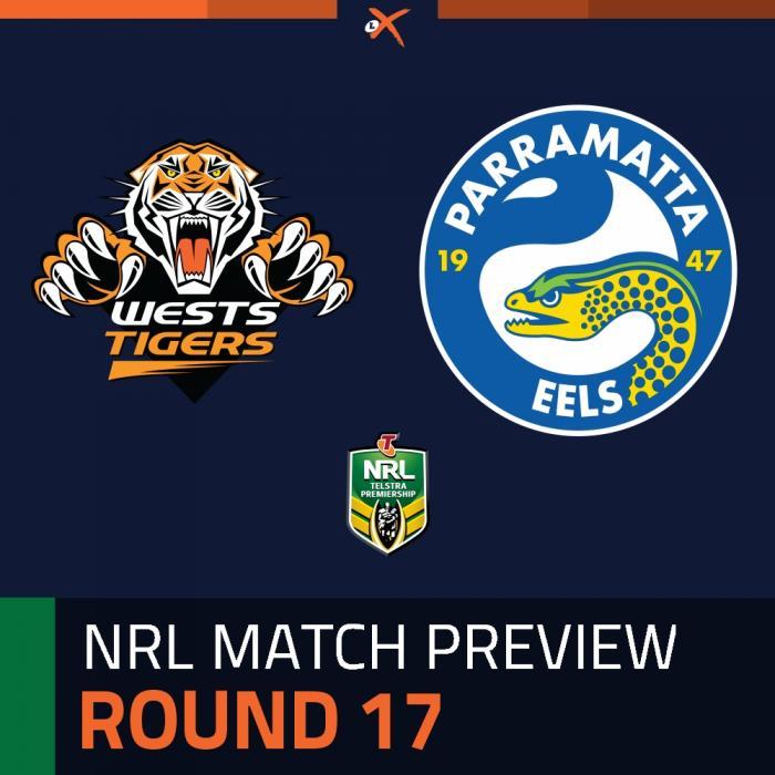 Wests Tigers v Parramatta Eels