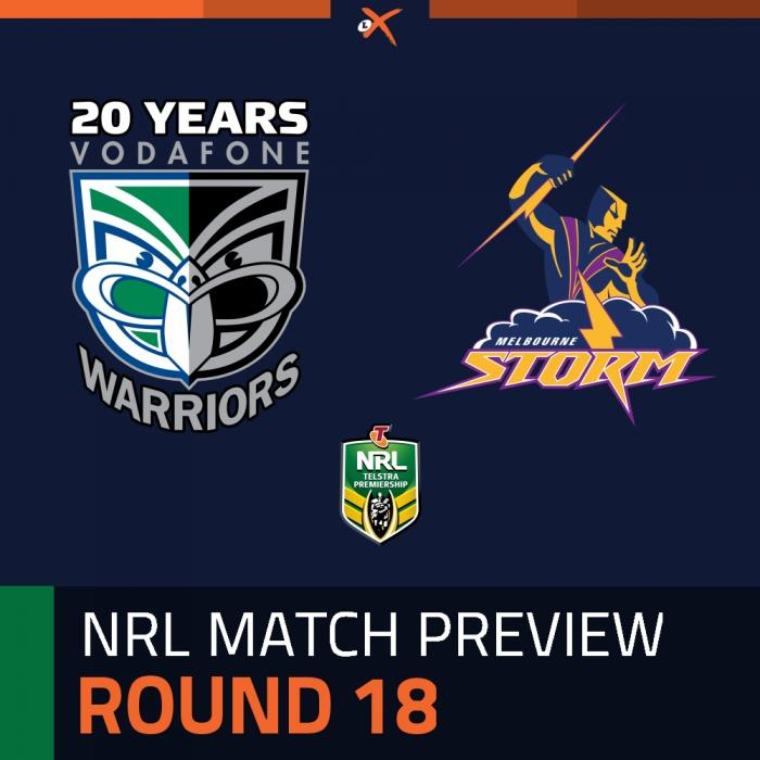 New Zealand Warriors v Melbourne Storm