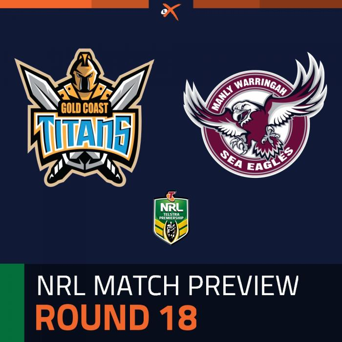 Gold Coast Titans v Manly-Warringah Sea Eagles