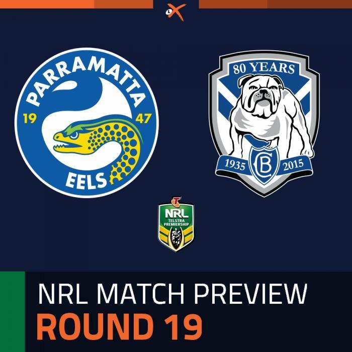 Parramatta Eels v Canterbury-Bankstown Bulldogs