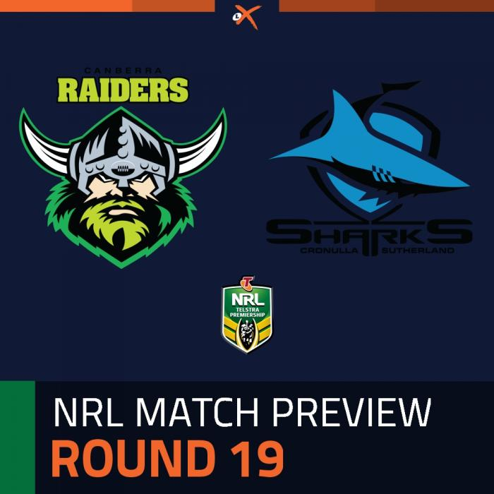 Canberra Raiders v Cronulla-Sutherland Sharks