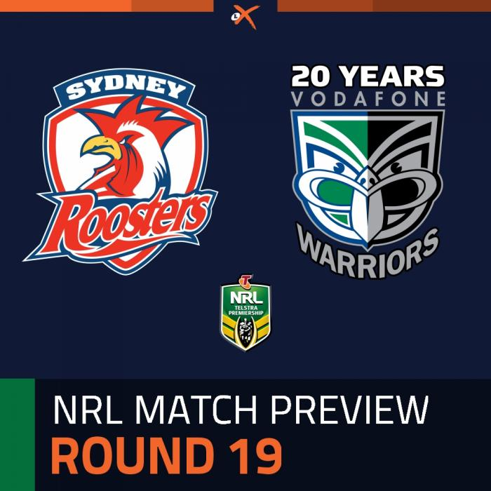 Sydney Roosters v New Zealand Warriors