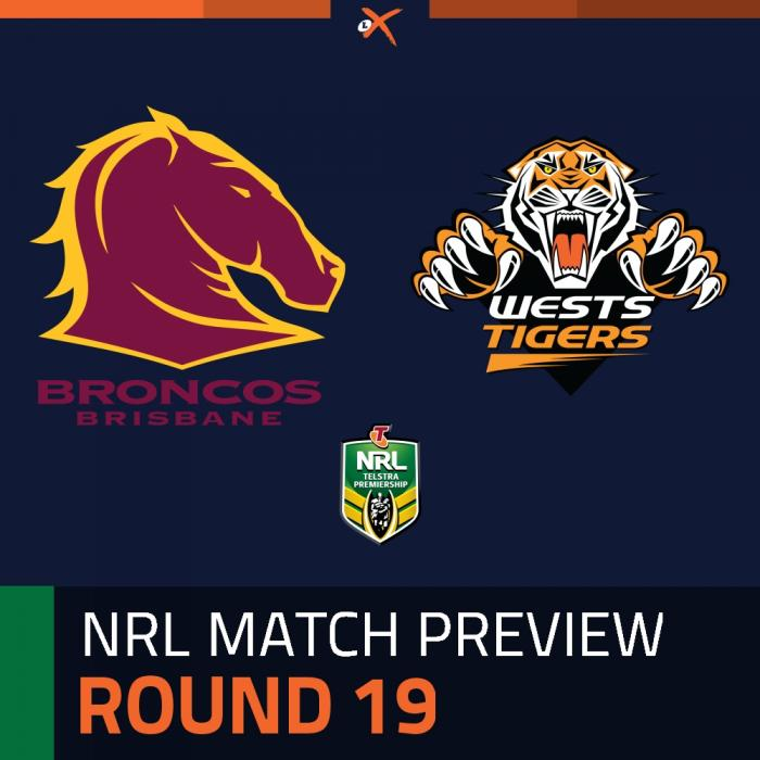 Brisbane Broncos v Wests Tigers