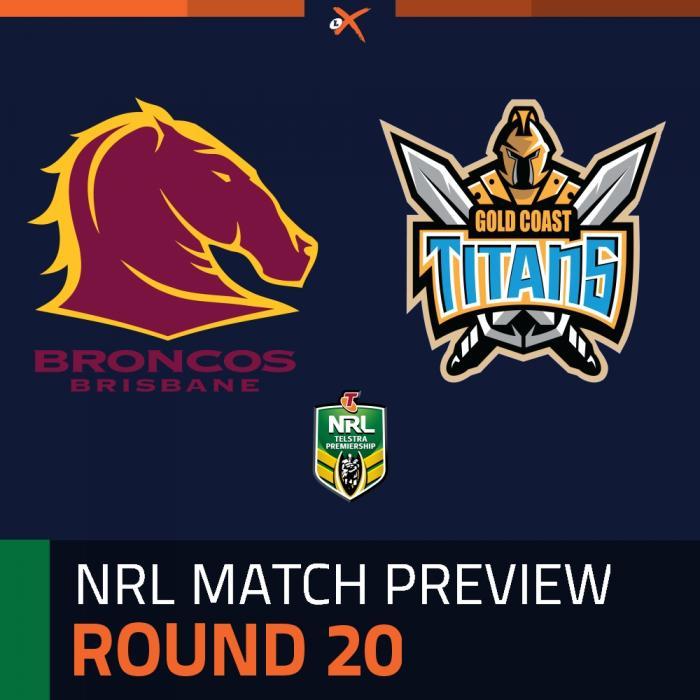 Brisbane Broncos v Gold Coast Titans