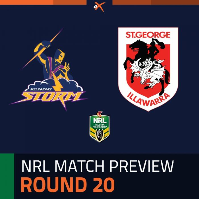 Melbourne Storm v St. George Illawarra Dragons