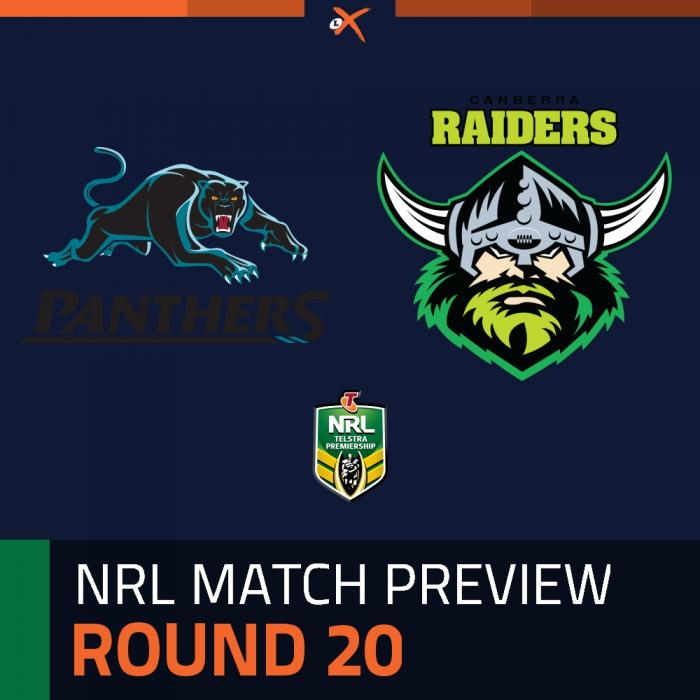 Penrith Panthers v Canberra Raiders