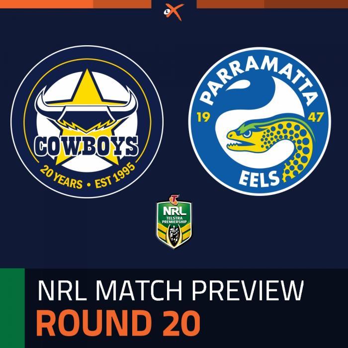 North Queensland Cowboys v Parramatta Eels