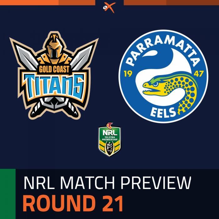 Gold Coast Titans v Parramatta Eels