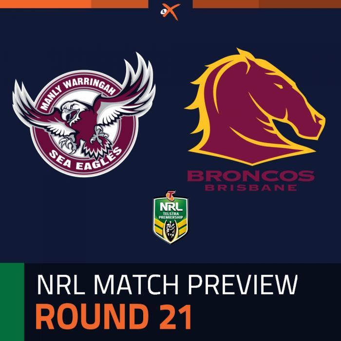 Manly-Warringah Sea Eagles v Brisbane Broncos