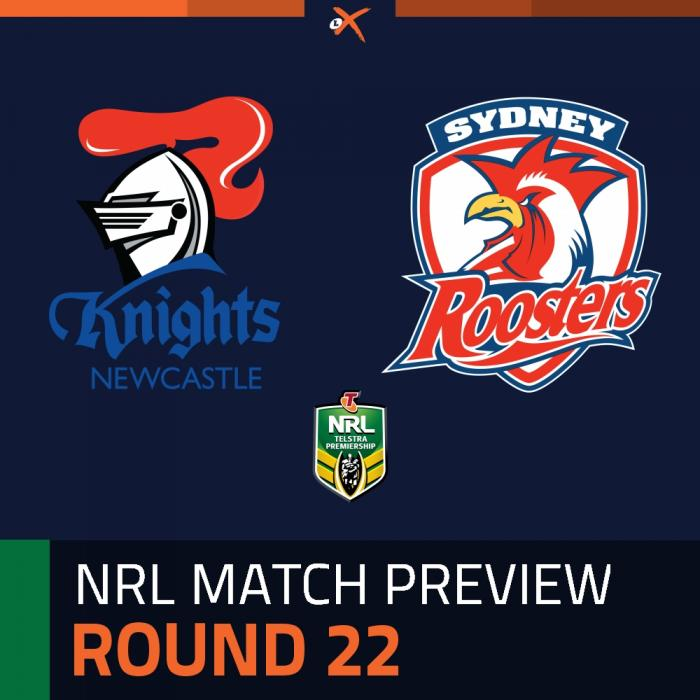 Newcastle Knights v Sydney Roosters
