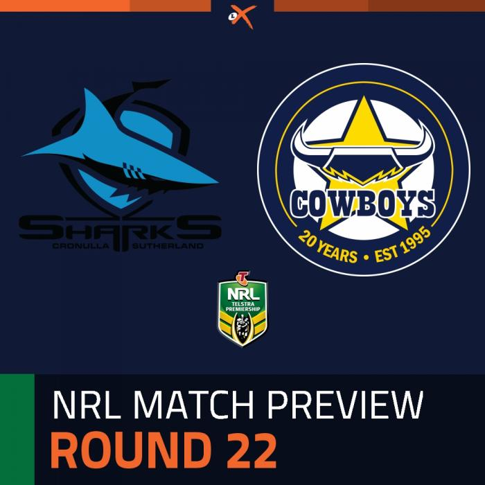 Cronulla-Sutherland Sharks v North Queensland Cowboys