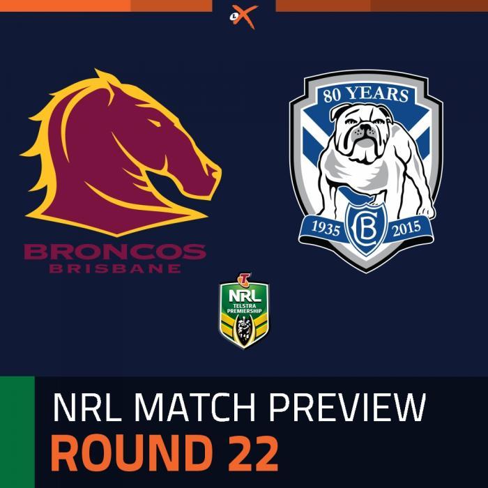 Brisbane Broncos v Canterbury-Bankstown Bulldogs