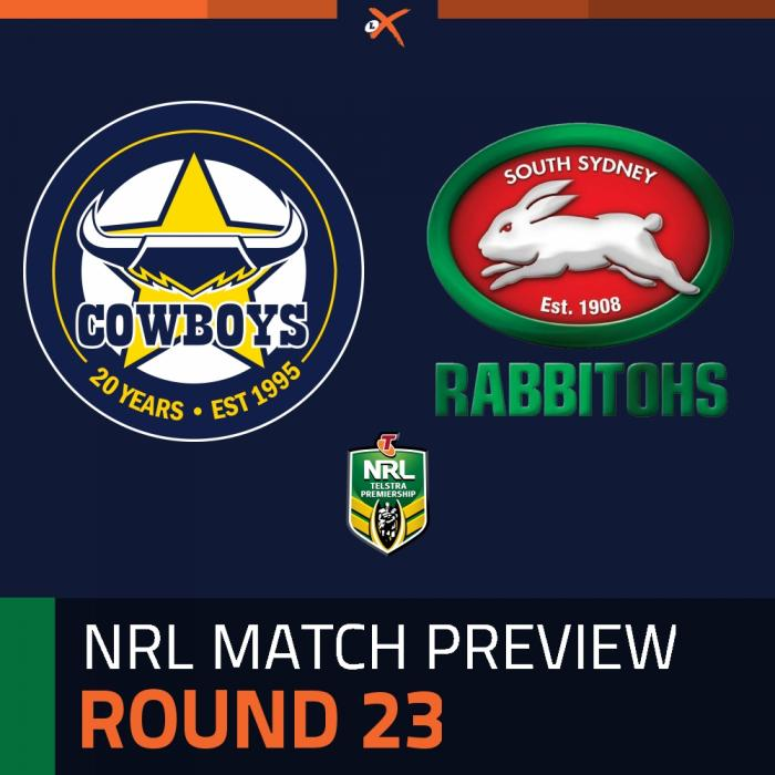 North Queensland Cowboys v South Sydney Rabbitohs
