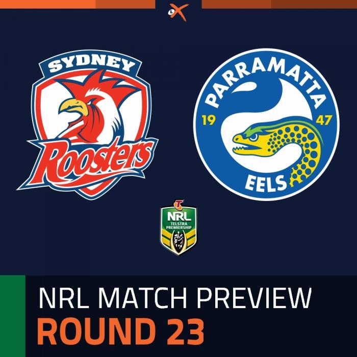Sydney Roosters v Parramatta Eels