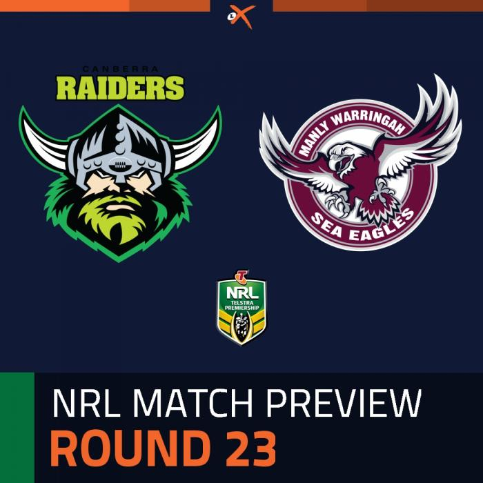 Canberra Raiders v Manly-Warringah Sea Eagles