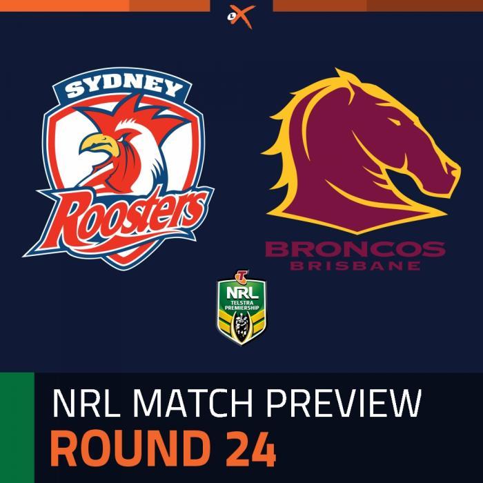 Sydney Roosters v Brisbane Broncos