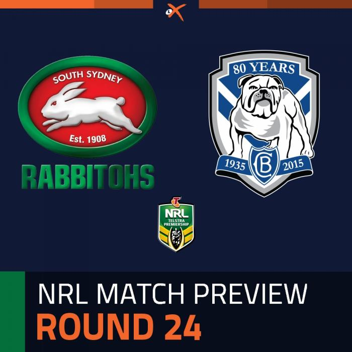 South Sydney Rabbitohs v Canterbury-Bankstown Bulldogs