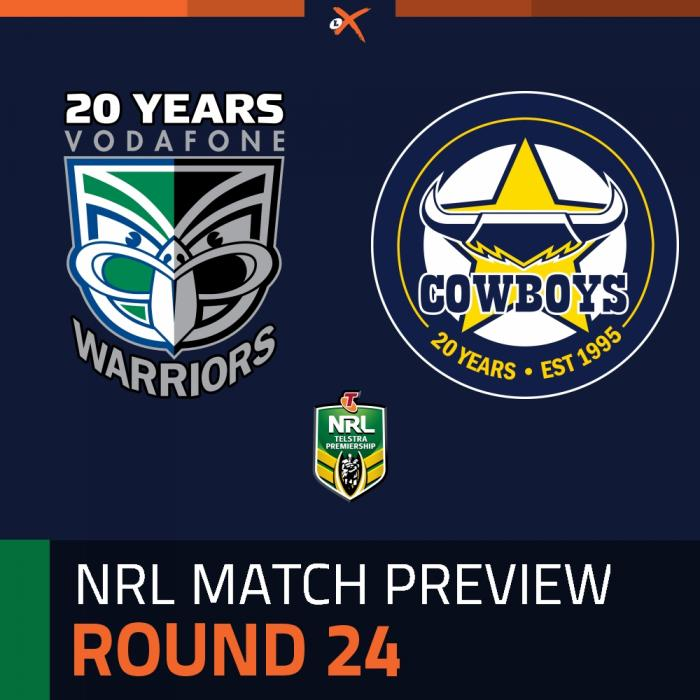New Zealand Warriors v North Queensland Cowboys