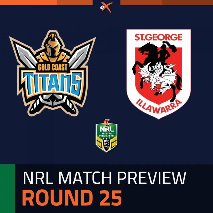 Gold Coast Titans v St. George Illawarra Dragons