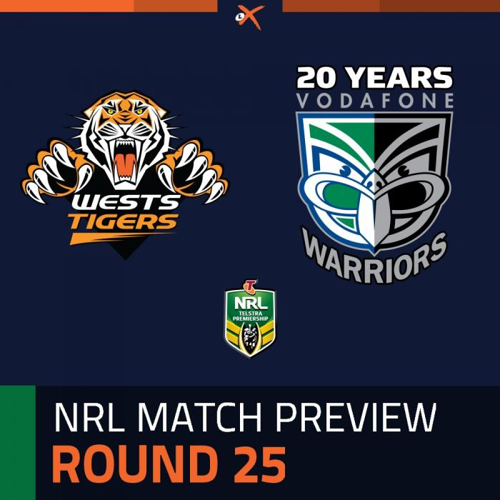 Wests Tigers v New Zealand Warriors
