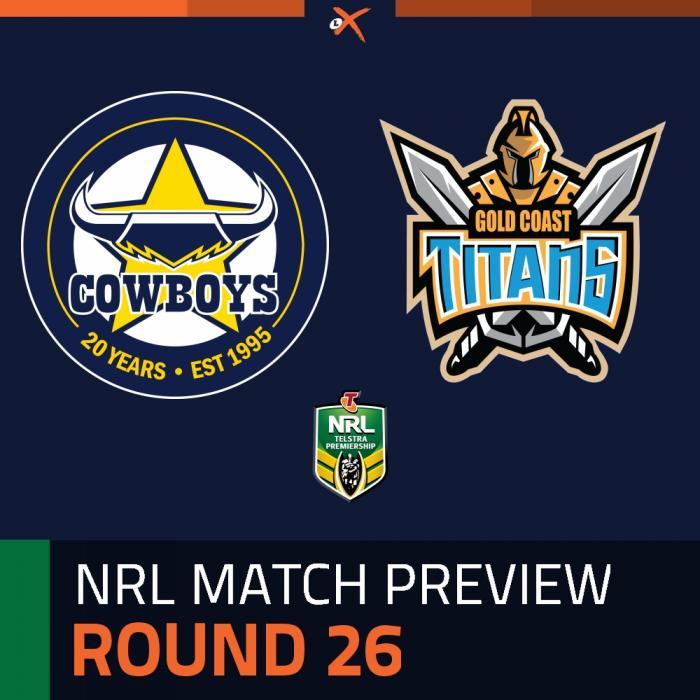 North Queensland Cowboys v Gold Coast Titans