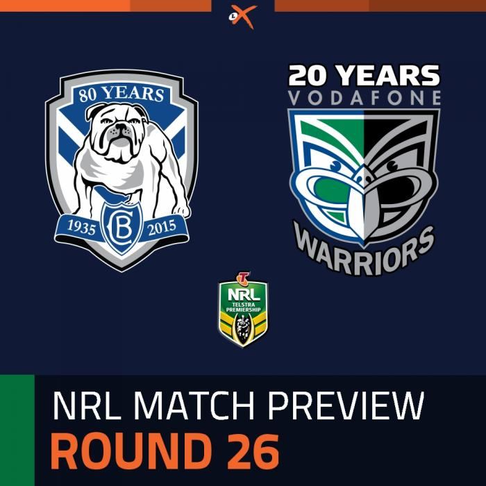Canterbury-Bankstown Bulldogs v New Zealand Warriors