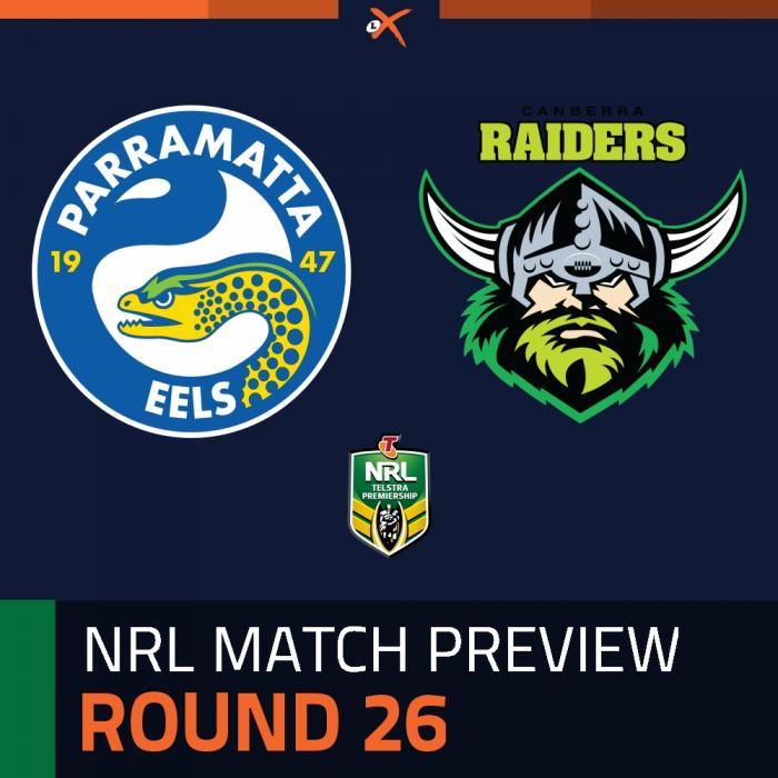 Parramatta Eels v Canberra Raiders