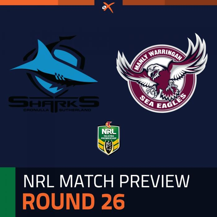 Cronulla-Sutherland Sharks v Manly-Warringah Sea Eagles