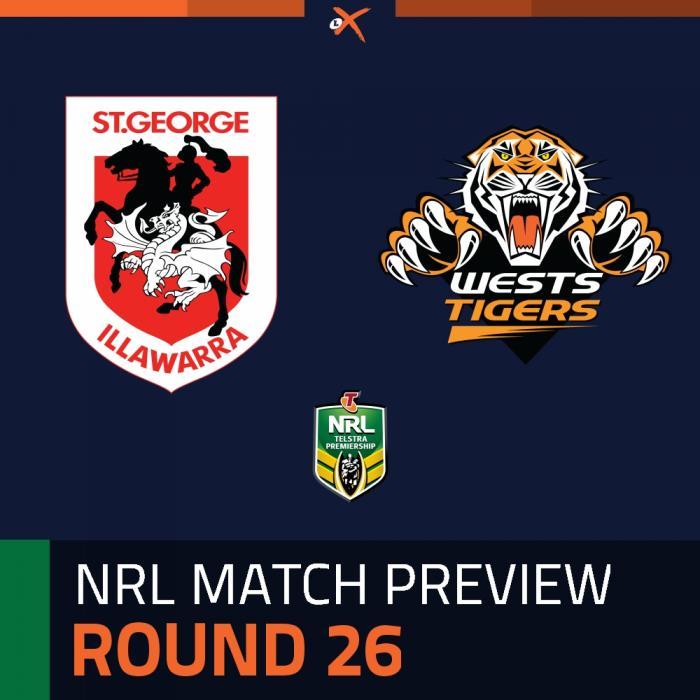 St. George Illawarra Dragons v Wests Tigers