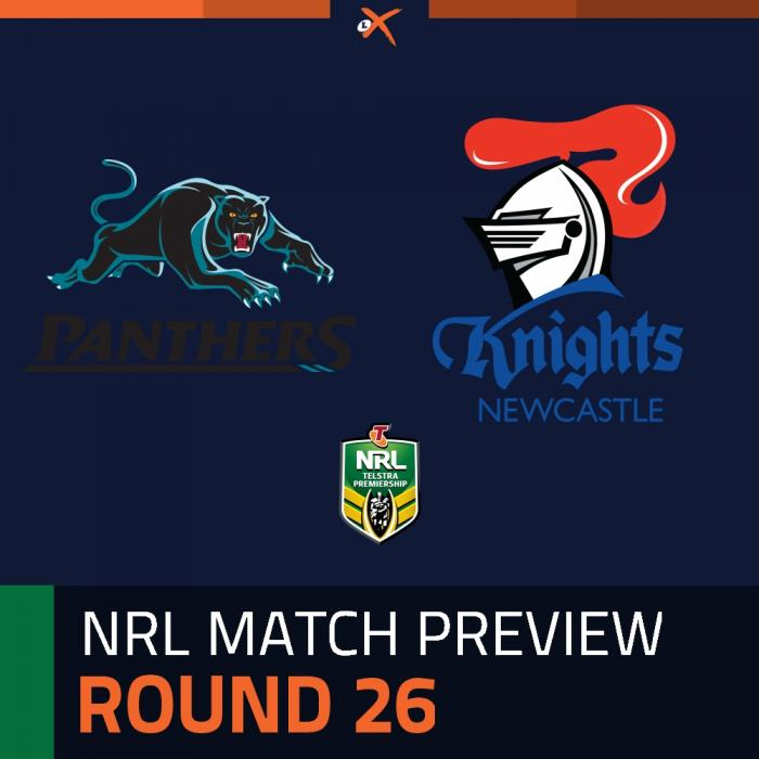 Penrith Panthers v Newcastle Knights