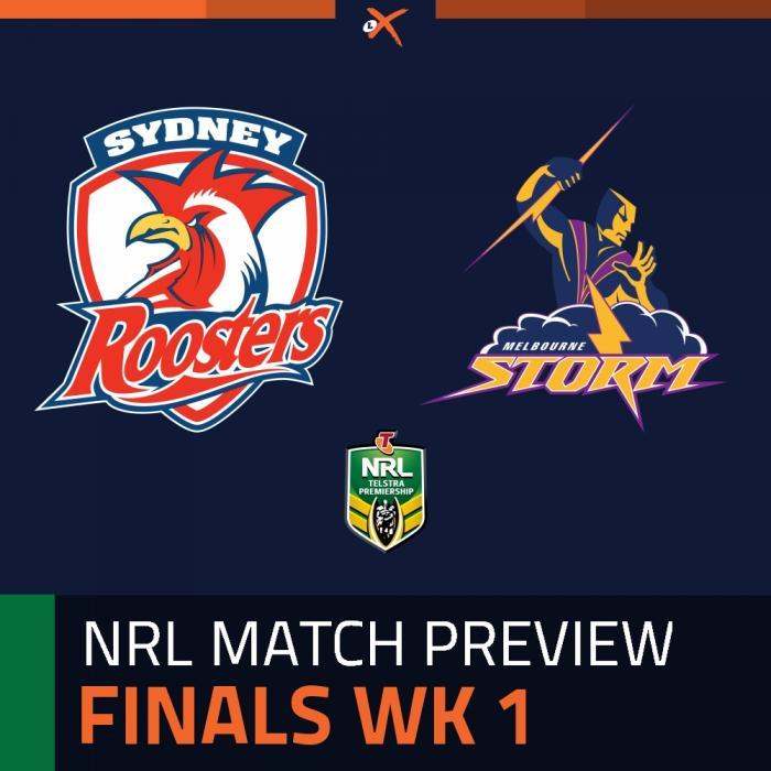 Sydney Roosters v Melbourne Storm