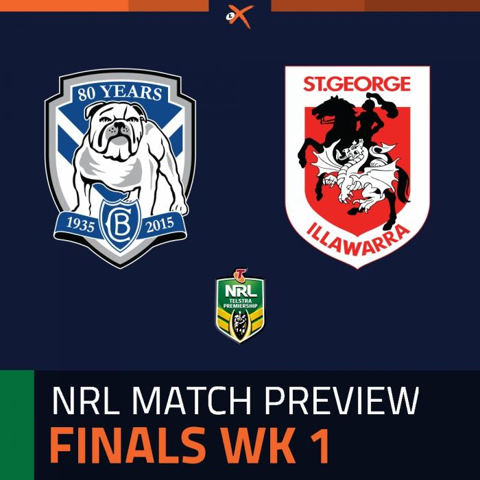 Canterbury-Bankstown Bulldogs v St. George Illawarra Dragons