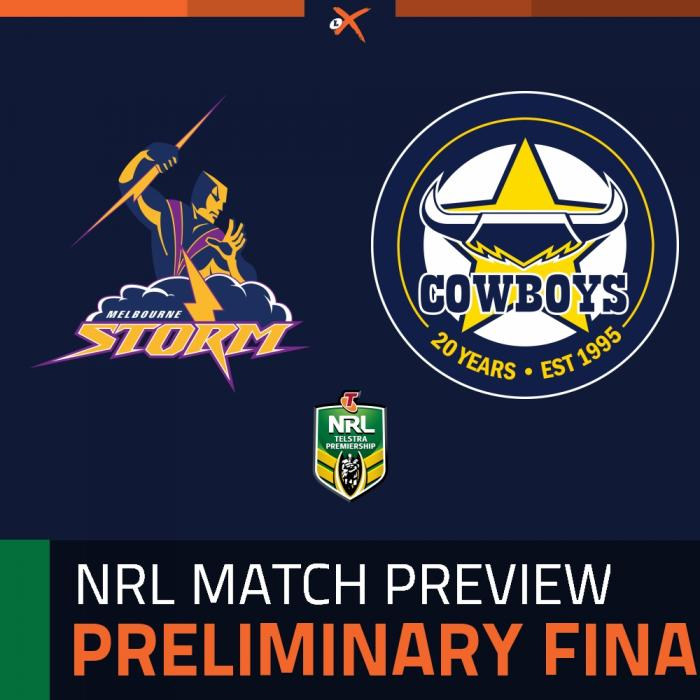 Melbourne Storm v North Queensland Cowboys
