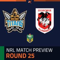Gold Coast Titans v St. George Illawarra Dragons