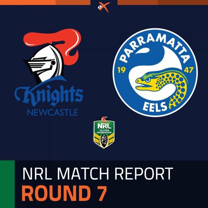 Newcastle Knights v Parramatta Eels