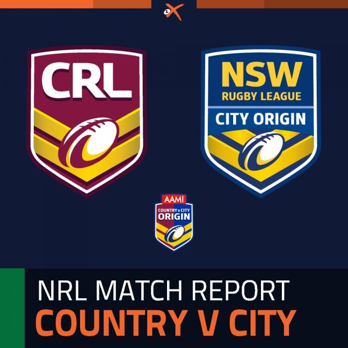 Country Origin v City Origin