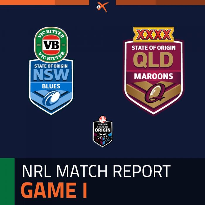 New South Wales Blues v Queensland Maroons