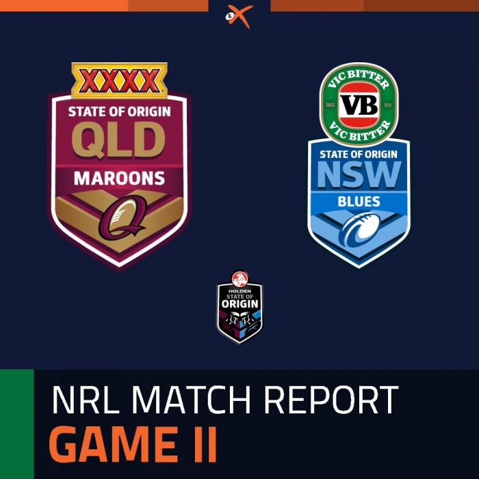 Queensland Maroons v New South Wales Blues