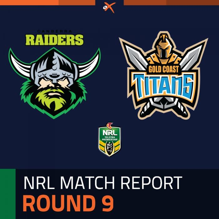 Canberra Raiders v Gold Coast Titans
