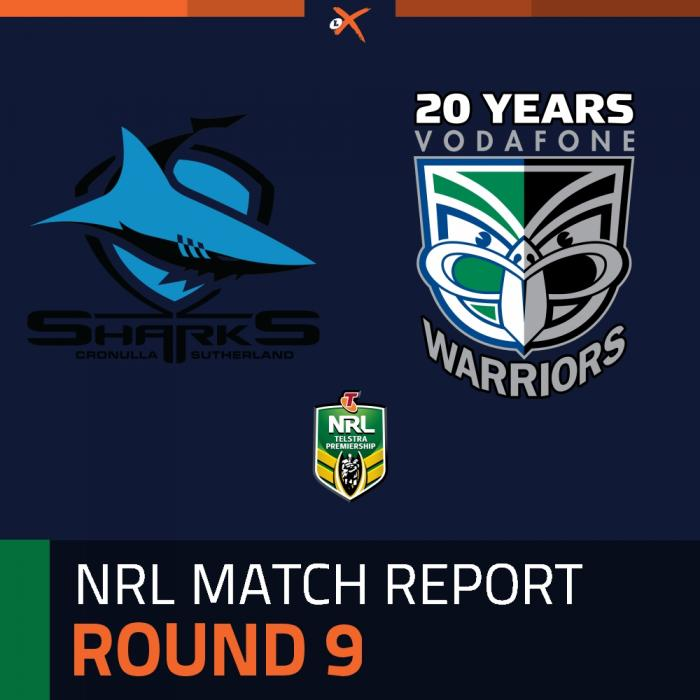 Cronulla-Sutherland Sharks v Warriors