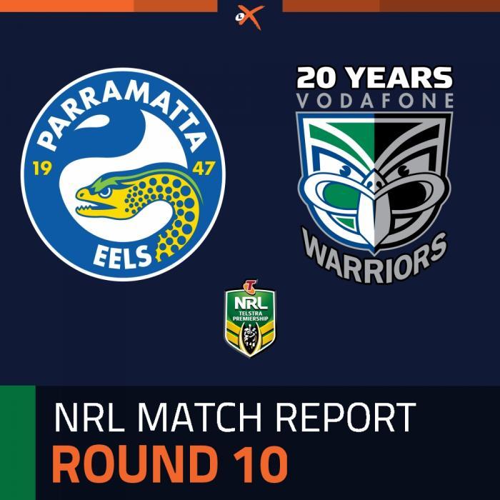 Parramatta Eels v Warriors