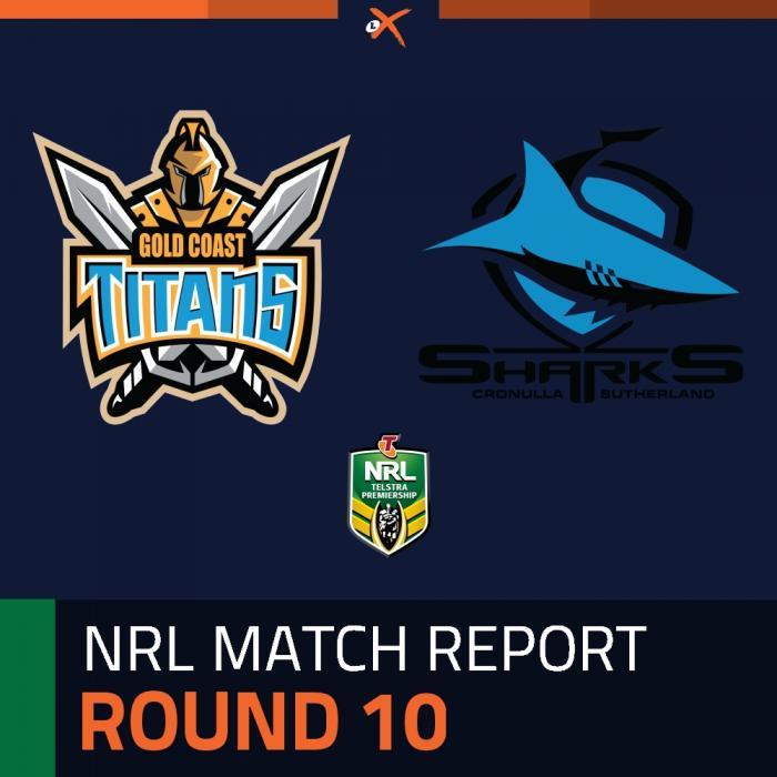 Gold Coast Titans v Cronulla-Sutherland Sharks