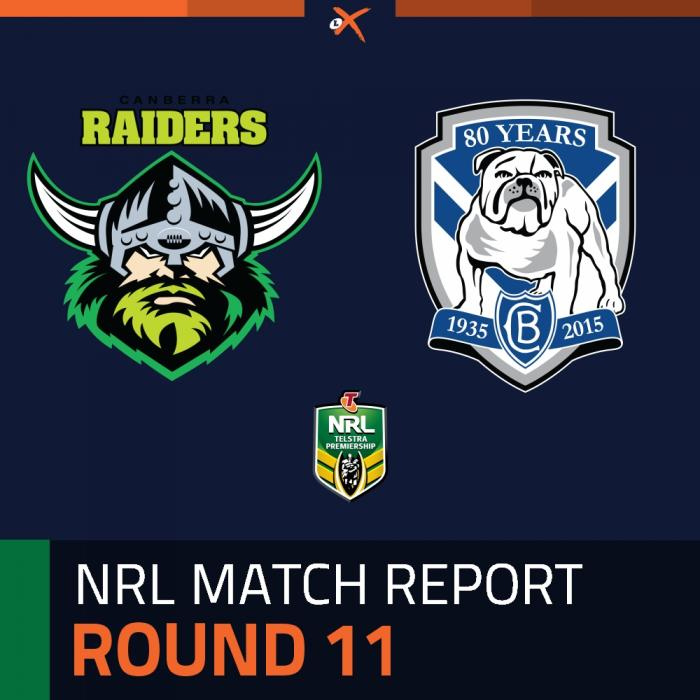 Canberra Raiders v Canterbury-Bankstown Bulldogs