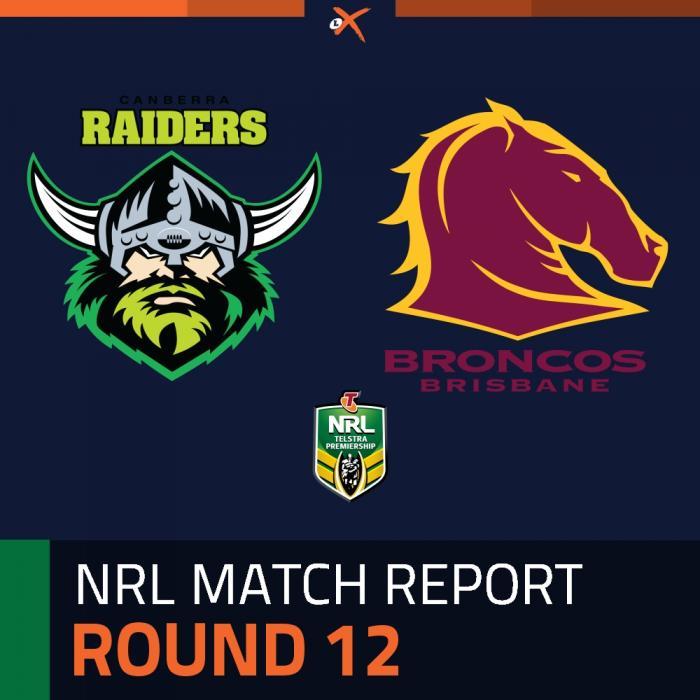 Canberra Raiders v Brisbane Broncos