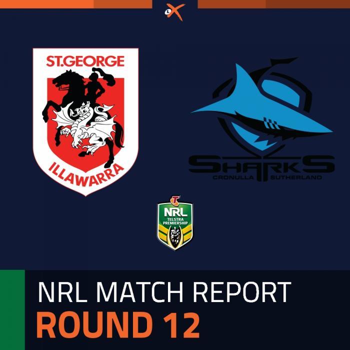 St. George Illawarra Dragons v Cronulla-Sutherland Sharks