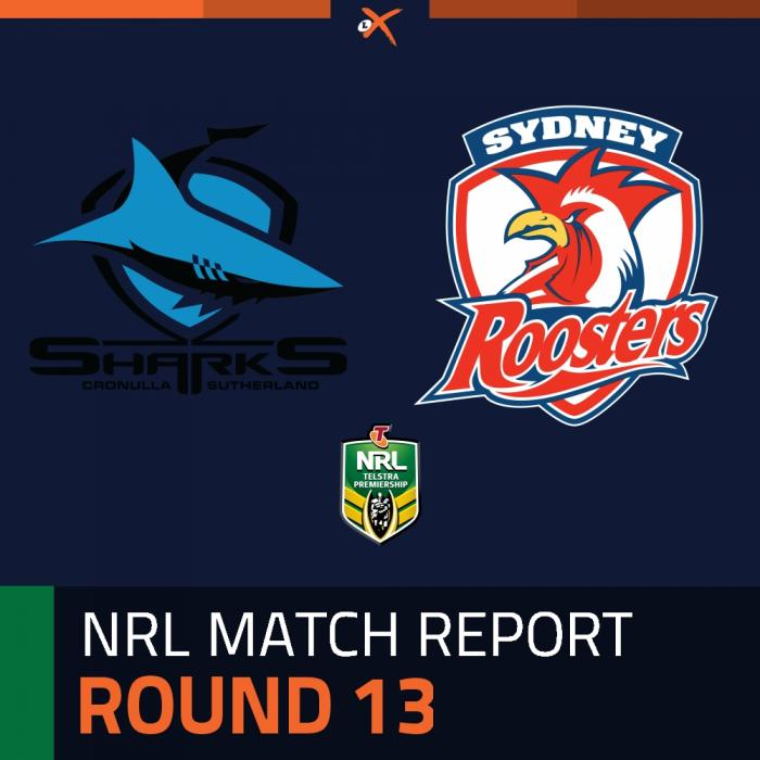 Cronulla-Sutherland Sharks v Sydney Roosters