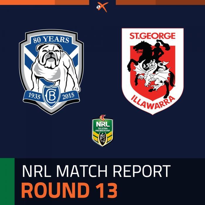 Canterbury-Bankstown Bulldogs v St. George Illawarra Dragons