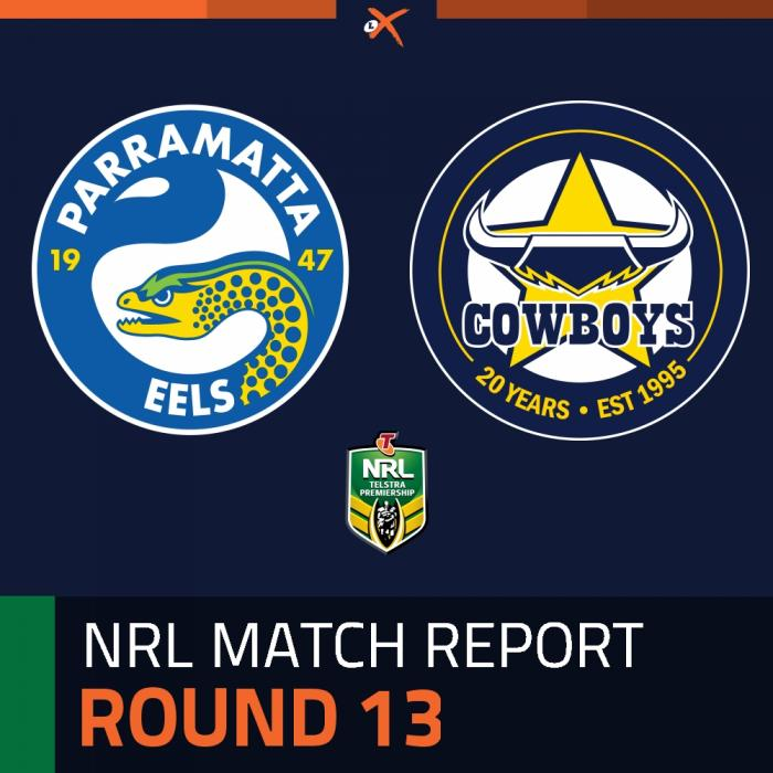 Parramatta Eels v North Queensland Cowboys