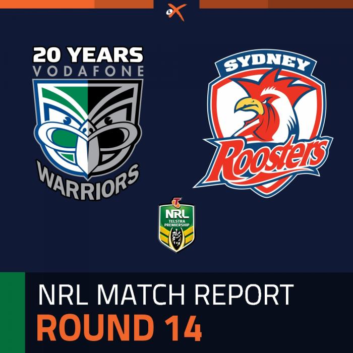New Zealand Warriors v Sydney Roosters