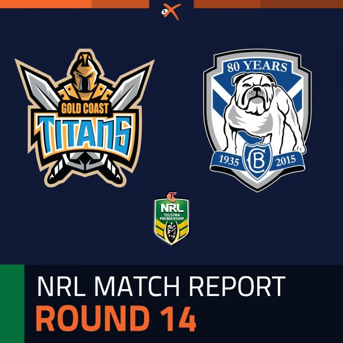 Gold Coast Titans v Canterbury-Bankstown Bulldogs